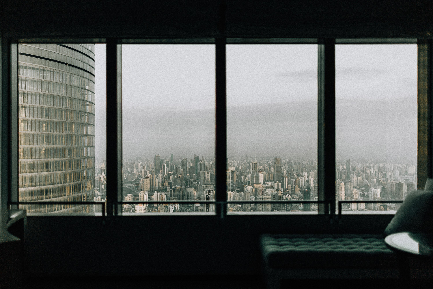 Image of city view of Shanghai